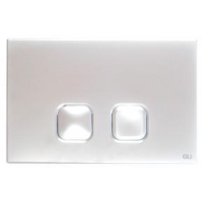 Кнопка смыва OLI Plain 070827 хром
