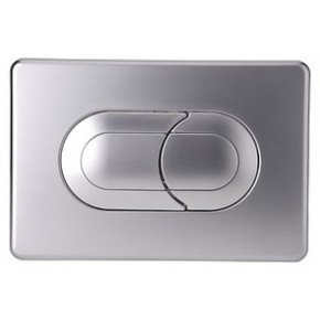Кнопка смыва OLI Salina 640086 хром матовый
