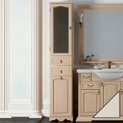 Пенал для ванной Opadiris Риспекто 40 L слоновая кость купить в Москве по цене от 30142р. в интернет-магазине mebel-v-vannu.ru