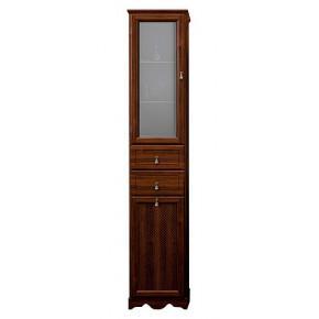 Шкаф-пенал Opadiris Тибет 40 L нагал, матовое стекло