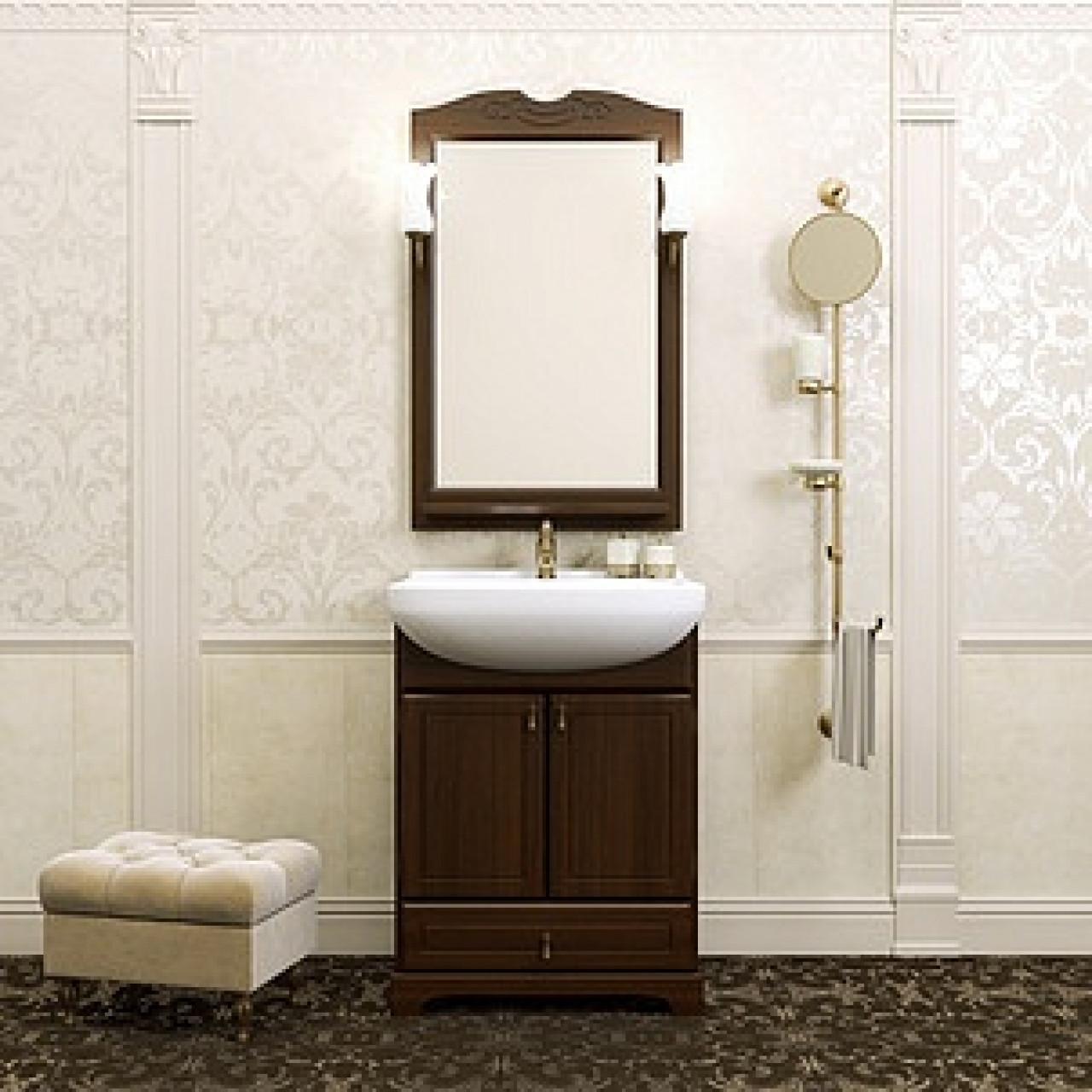 Комплект мебели Opadiris Клио 65 нагал купить в Москве по цене от 27909р. в интернет-магазине mebel-v-vannu.ru