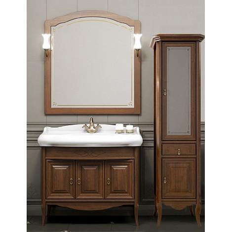 Комплект мебели Opadiris Лоренцо 100 орех купить в Москве по цене от 64469р. в интернет-магазине mebel-v-vannu.ru