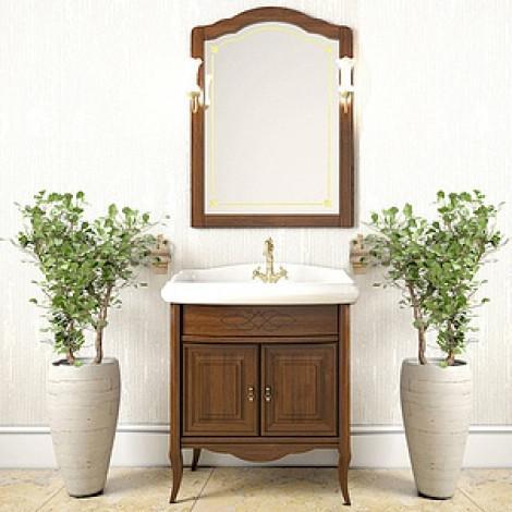 Комплект мебели Opadiris Лоренцо 80 орех купить в Москве по цене от 53941р. в интернет-магазине mebel-v-vannu.ru