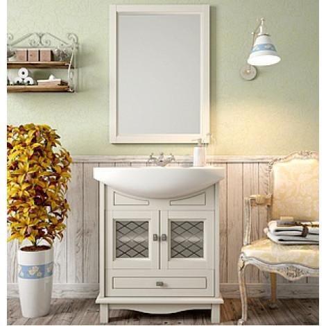 Комплект мебели Opadiris Омега 65 cлоновая кость купить в Москве по цене от 24514р. в интернет-магазине mebel-v-vannu.ru