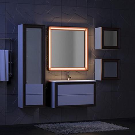 Комплект мебели Opadiris Капри 80 купить в Москве по цене от 42112р. в интернет-магазине mebel-v-vannu.ru