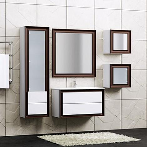 Комплект мебели Opadiris Капри 90 купить в Москве по цене от 47670р. в интернет-магазине mebel-v-vannu.ru