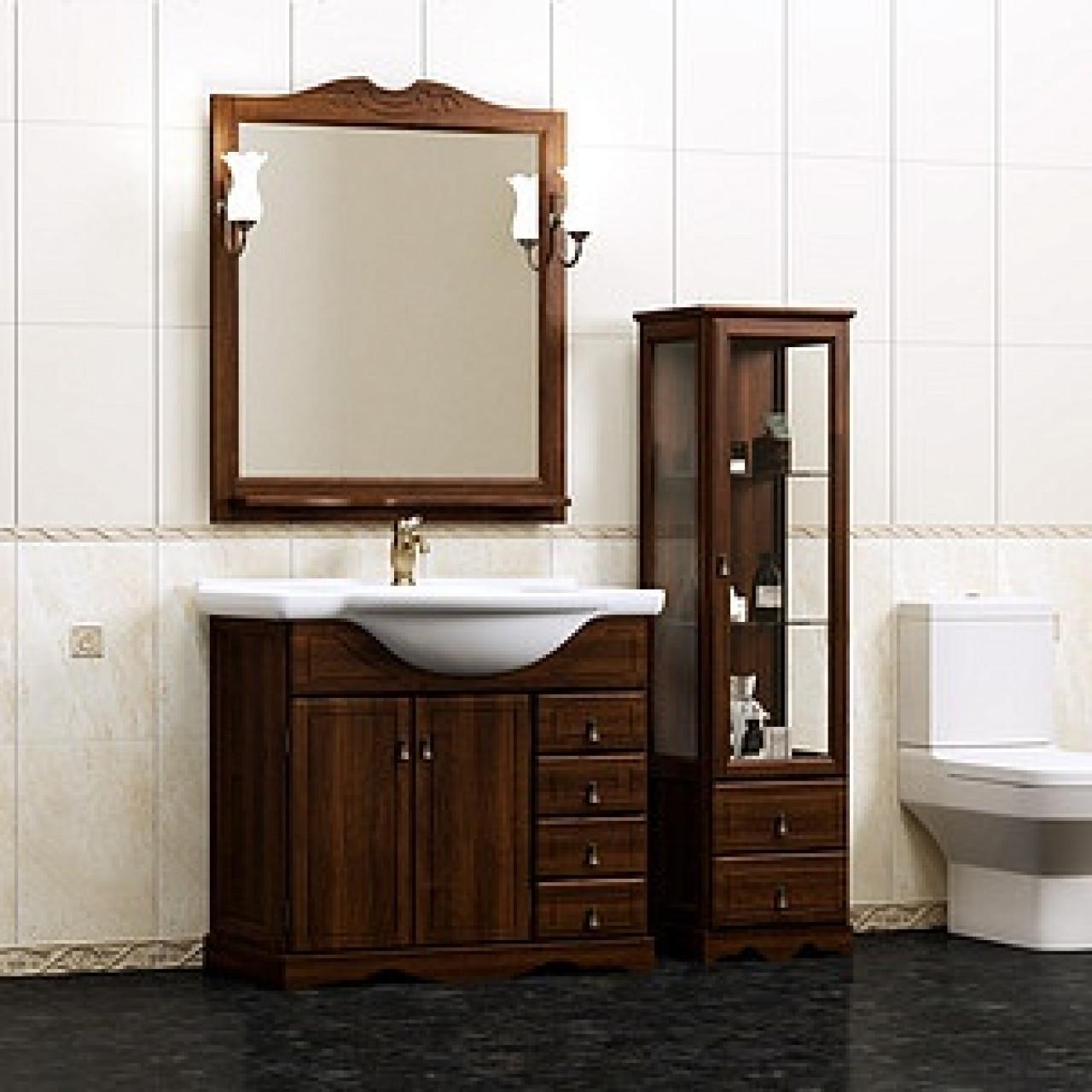 Комплект мебели Opadiris Клио 80 нагал купить в Москве по цене от 39017р. в интернет-магазине mebel-v-vannu.ru