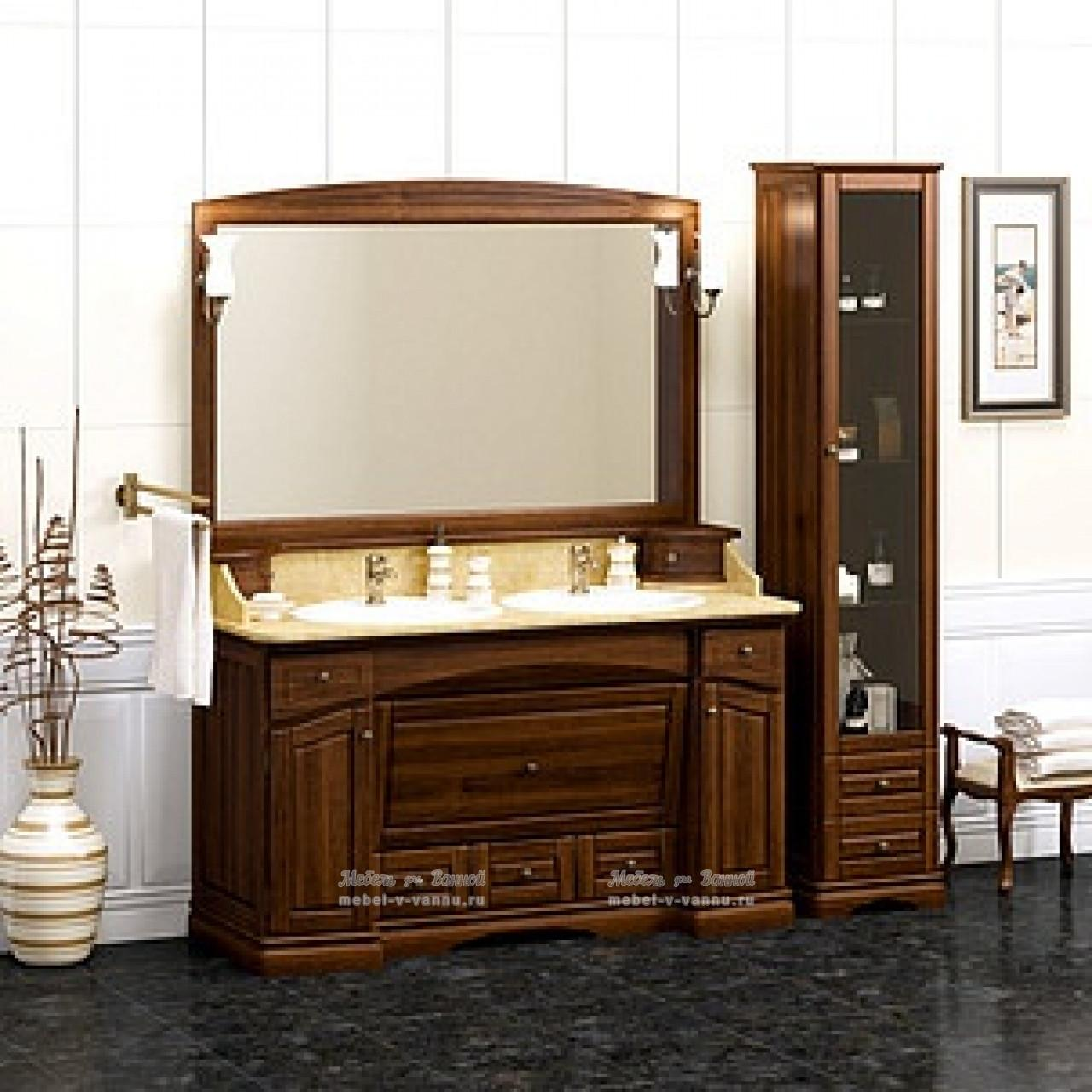 Комплект мебели Opadiris Лучия 150 нагал купить в Москве по цене от 162554р. в интернет-магазине mebel-v-vannu.ru