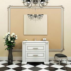 Комплект мебели Opadiris Оникс 100 серебряная патина