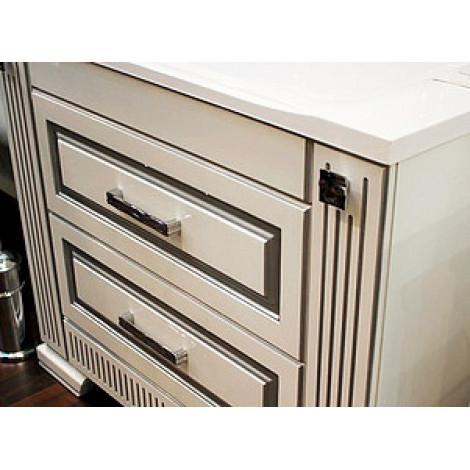 Комплект мебели Opadiris Оникс 100 серебряная патина купить в Москве по цене от 52934р. в интернет-магазине mebel-v-vannu.ru
