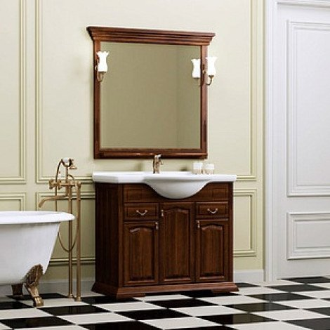 Комплект мебели Opadiris Риспекто 95 нагал купить в Москве по цене от 52500р. в интернет-магазине mebel-v-vannu.ru