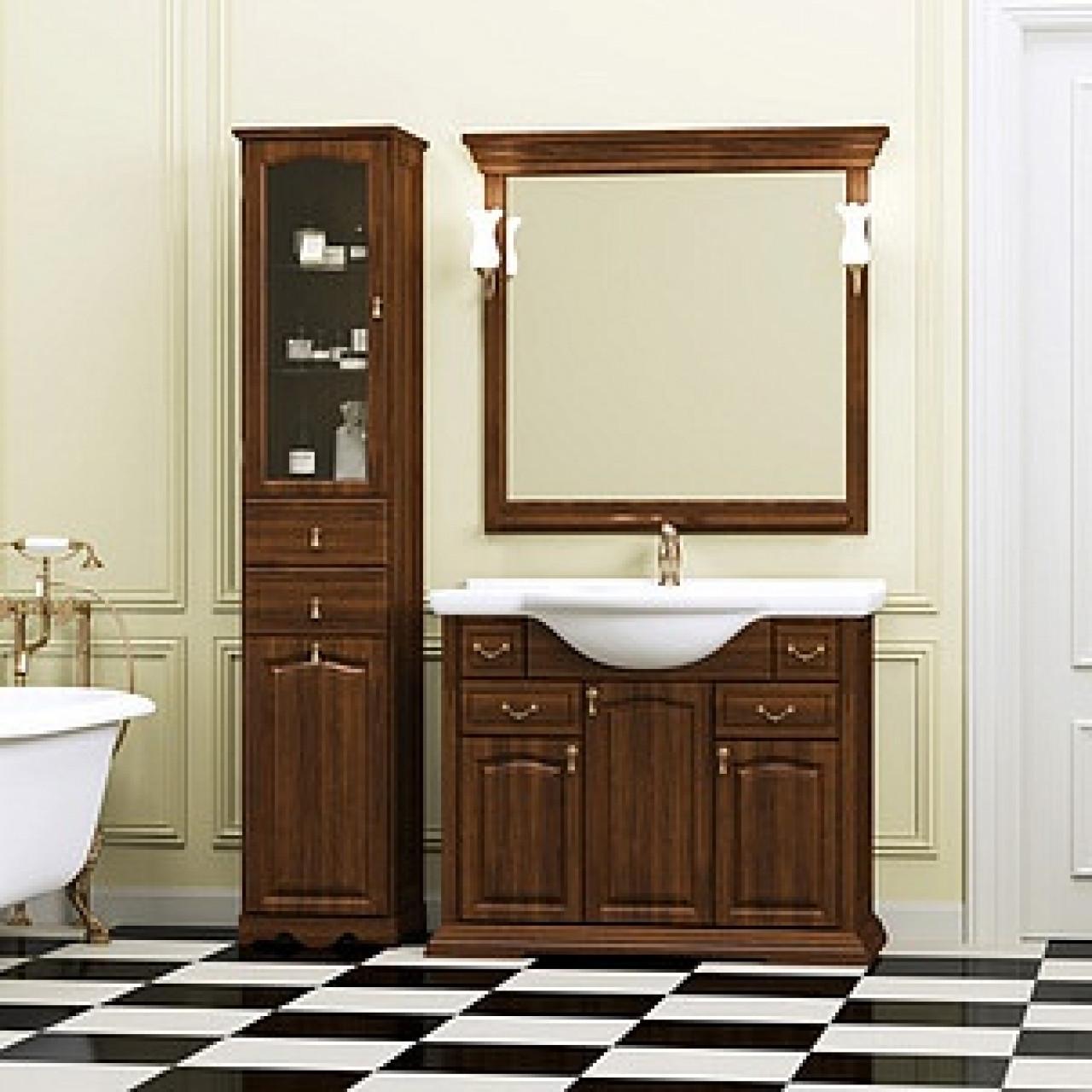 Комплект мебели Opadiris Риспекто 105 нагал купить в Москве по цене от 54291р. в интернет-магазине mebel-v-vannu.ru