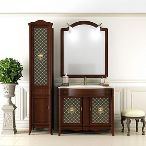 Комплект мебели Opadiris Виктория 90 орех купить в Москве по цене от 113497р. в интернет-магазине mebel-v-vannu.ru