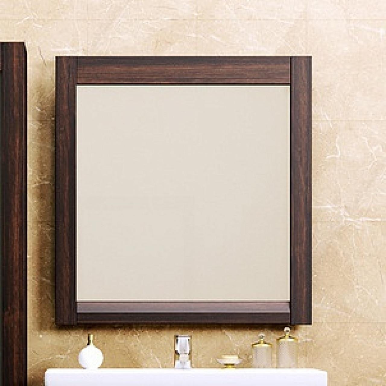 Зеркало Opadiris Лаварро 80 венге купить в Москве по цене от 7070р. в интернет-магазине mebel-v-vannu.ru