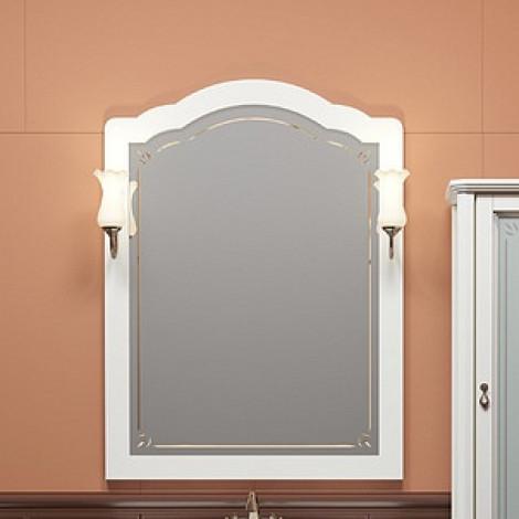 Комплект мебели Opadiris Лоренцо 80 белый с патиной купить в Москве по цене от 56462р. в интернет-магазине mebel-v-vannu.ru