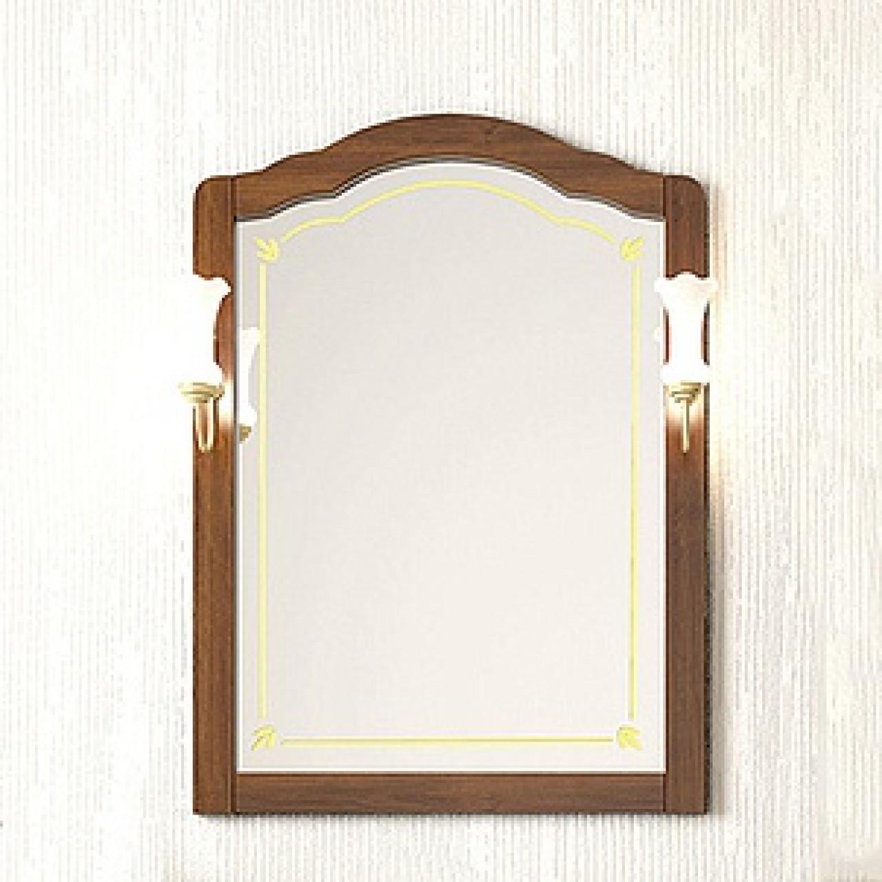 Зеркало Opadiris Лоренцо 80 орех купить в Москве по цене от 10284р. в интернет-магазине mebel-v-vannu.ru