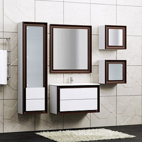 Зеркало Opadiris Капри 80 купить в Москве по цене от 8370р. в интернет-магазине mebel-v-vannu.ru