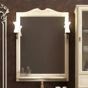 Зеркало Opadiris Тибет 80 слоновая кость купить в Москве по цене от 7487р. в интернет-магазине mebel-v-vannu.ru