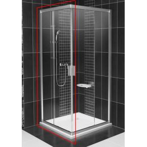 Дверь для комбинации с дверью или стенкой Ravak Blix BLRV2K-120 блестящий+транспарент 1XVG0C00Z1