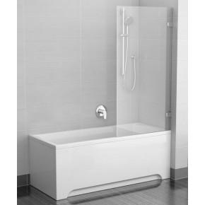 Шторка для ванны Ravak Briliant BVS1-80 хром+транспарент 7U840A00Z1