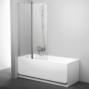 Шторка для ванны Ravak Chrome CVS2-100 L блестящий+транспарент 7QLA0C00Z1