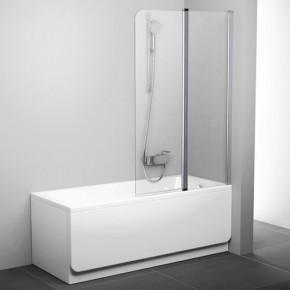 Шторка для ванны Ravak Chrome CVS2-100 R блестящий+транспарент 7QRA0C00Z1