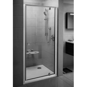 Душевая дверь Ravak Pivot PDOP1-90 блестящая+транспарент 03G70C00Z1