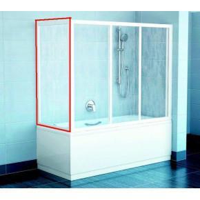Жесткая стенка для ванны Ravak Supernova APSV-70 белая+транспарент 95010102Z1