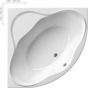 Акриловая ванна Ravak New Day 150х150 C661000000