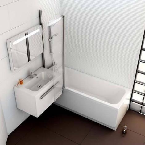 Акриловая ванна Ravak Chrome 160х70 C731000000 купить в Москве по цене от 32772р. в интернет-магазине mebel-v-vannu.ru