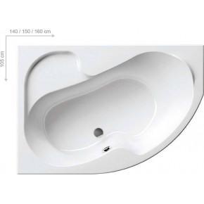Акриловая ванна Ravak Rosa I 150х105 L/R (CK01000000/CJ01000000)