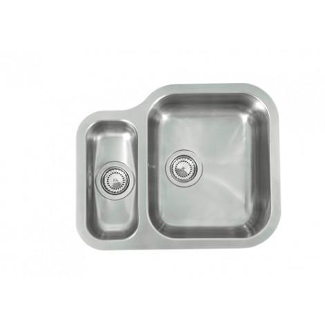 Кухонная мойка Reginox Alaska U LUX OKG left/rignt 43209/42920 купить в Москве по цене от 23300р. в интернет-магазине mebel-v-vannu.ru