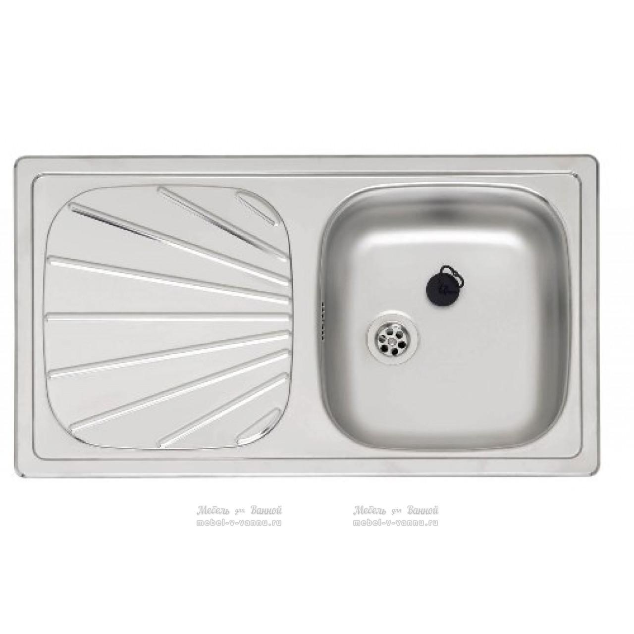 Кухонная мойка Reginox Beta 10 LINEN 780x430 OSP купить в Москве по цене от 6890р. в интернет-магазине mebel-v-vannu.ru