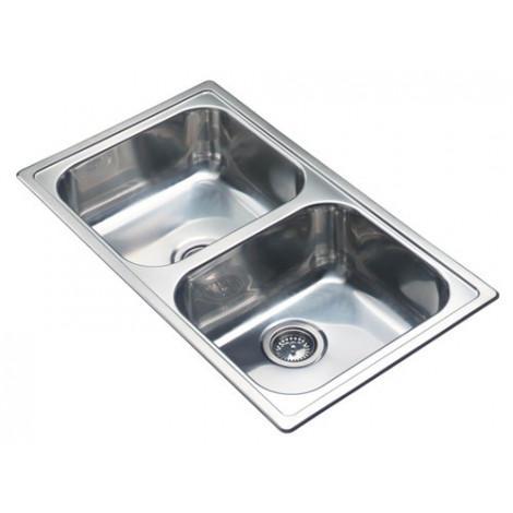 Кухонная мойка Reginox Diplomat 20 R LUX 860x500 OKG купить в Москве по цене от 13320р. в интернет-магазине mebel-v-vannu.ru