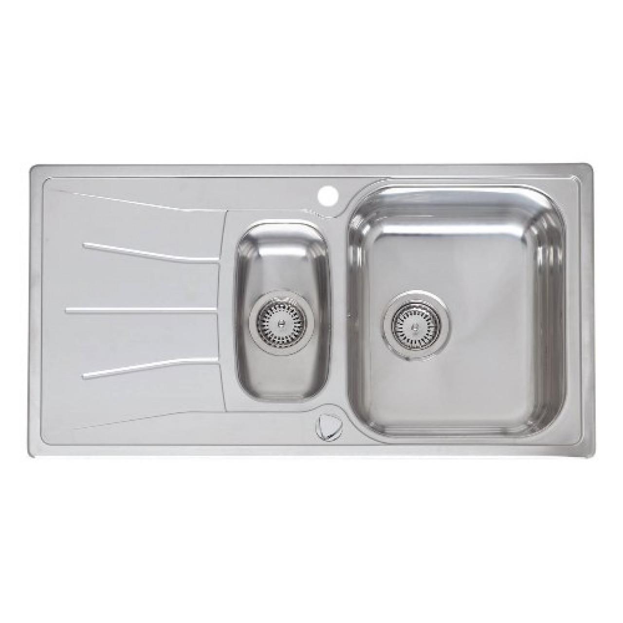 Кухонная мойка Reginox Diplomat 15 LINEN KGOKG 38001 купить в Москве по цене от 21360р. в интернет-магазине mebel-v-vannu.ru