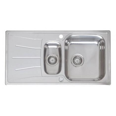 Кухонная мойка Reginox Diplomat 15 R LUX 950x500 OKG купить в Москве по цене от 19120р. в интернет-магазине mebel-v-vannu.ru
