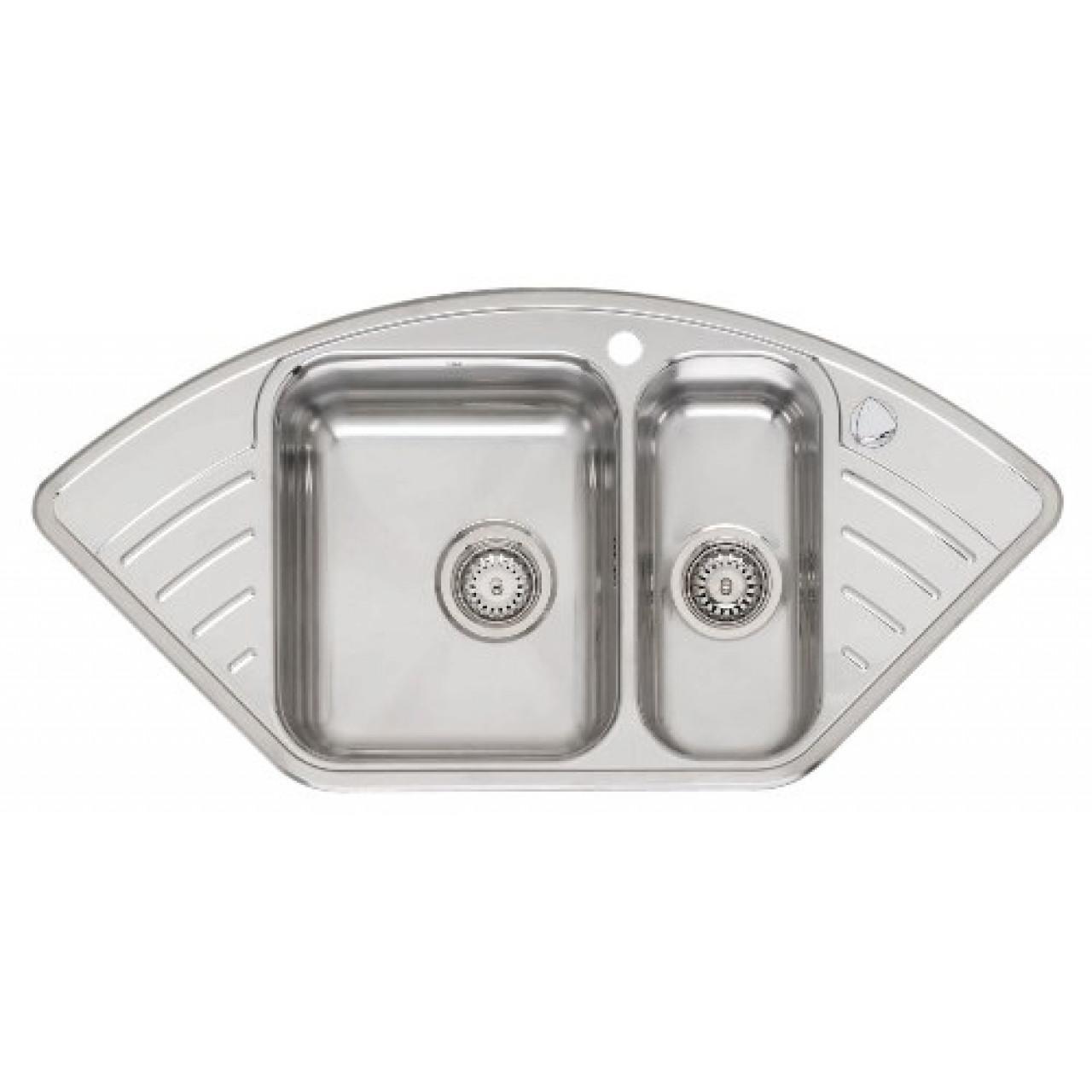 Кухонная мойка Reginox Empire R 15 LUX KGOKG left/right 2098/2099 купить в Москве по цене от 39000р. в интернет-магазине mebel-v-vannu.ru