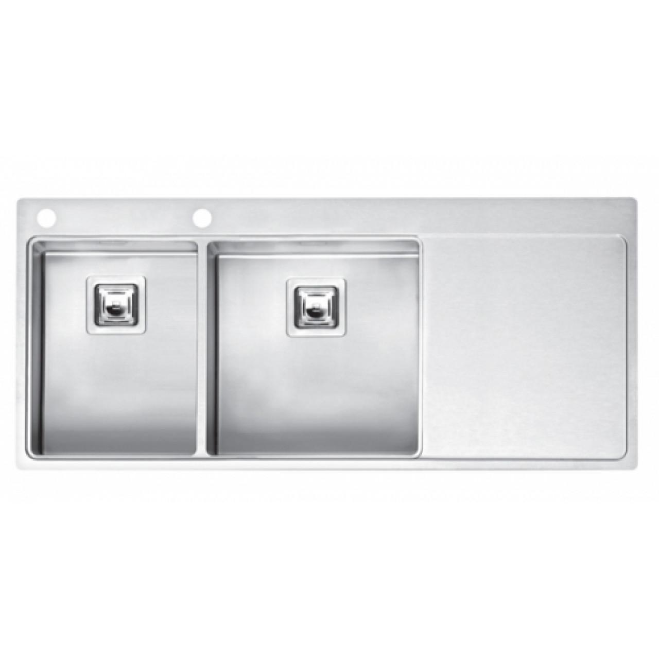 Кухонная мойка Reginox Nevada 30x40 LUX OKG Left/Right 43107/43108 купить в Москве по цене от 96070р. в интернет-магазине mebel-v-vannu.ru