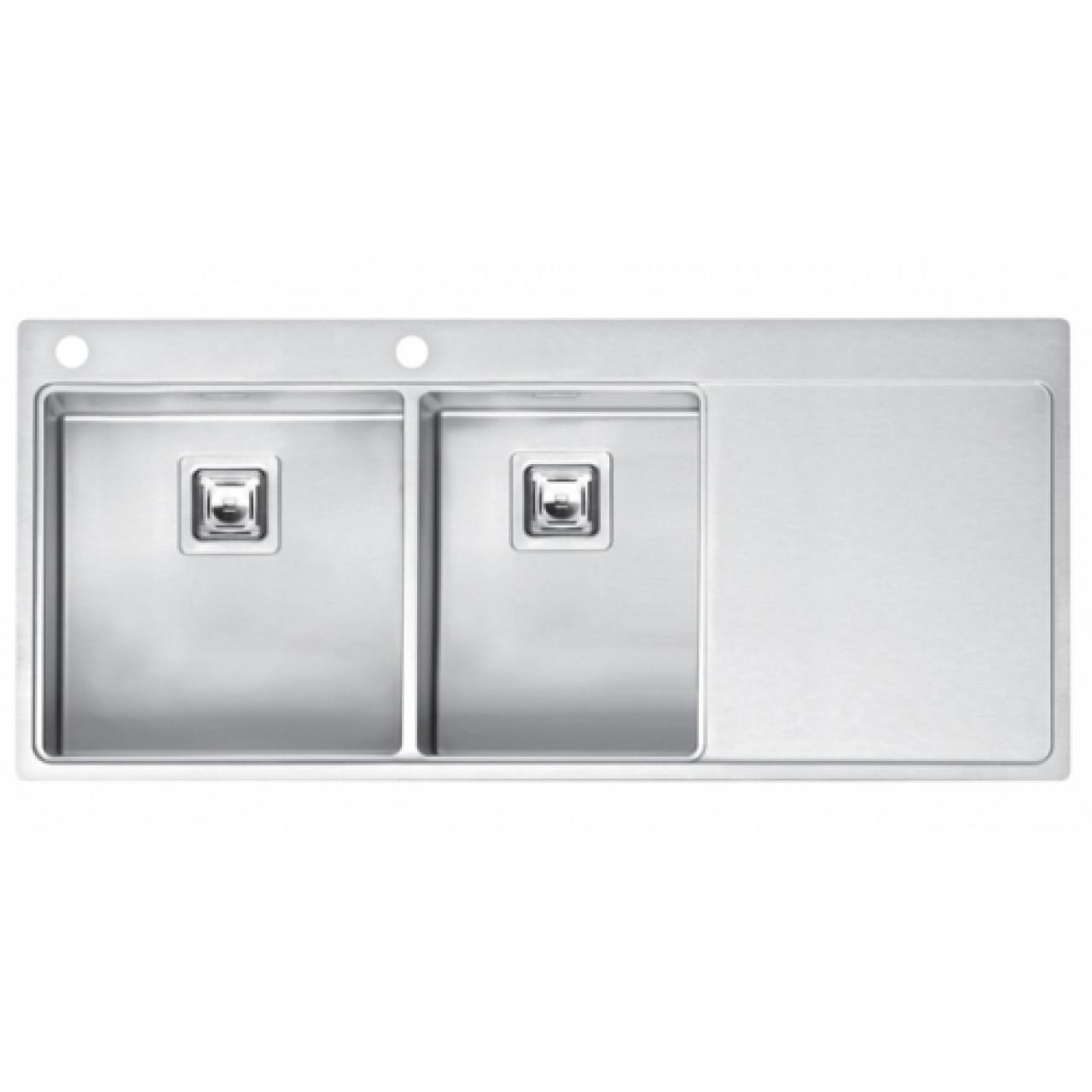 Кухонная мойка Reginox Nevada 40x30 LUX OKG Left/Right 43105/43106 купить в Москве по цене от 96070р. в интернет-магазине mebel-v-vannu.ru
