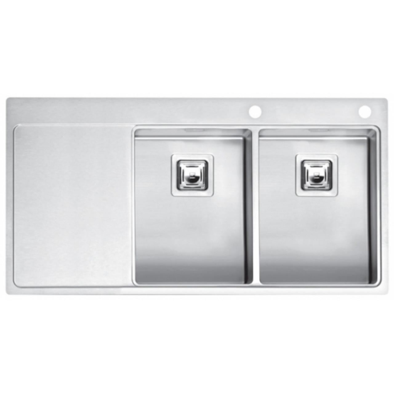 Кухонная мойка Reginox Nevada 30x30 LUX OKG Right 43110 купить в Москве по цене от 86150р. в интернет-магазине mebel-v-vannu.ru