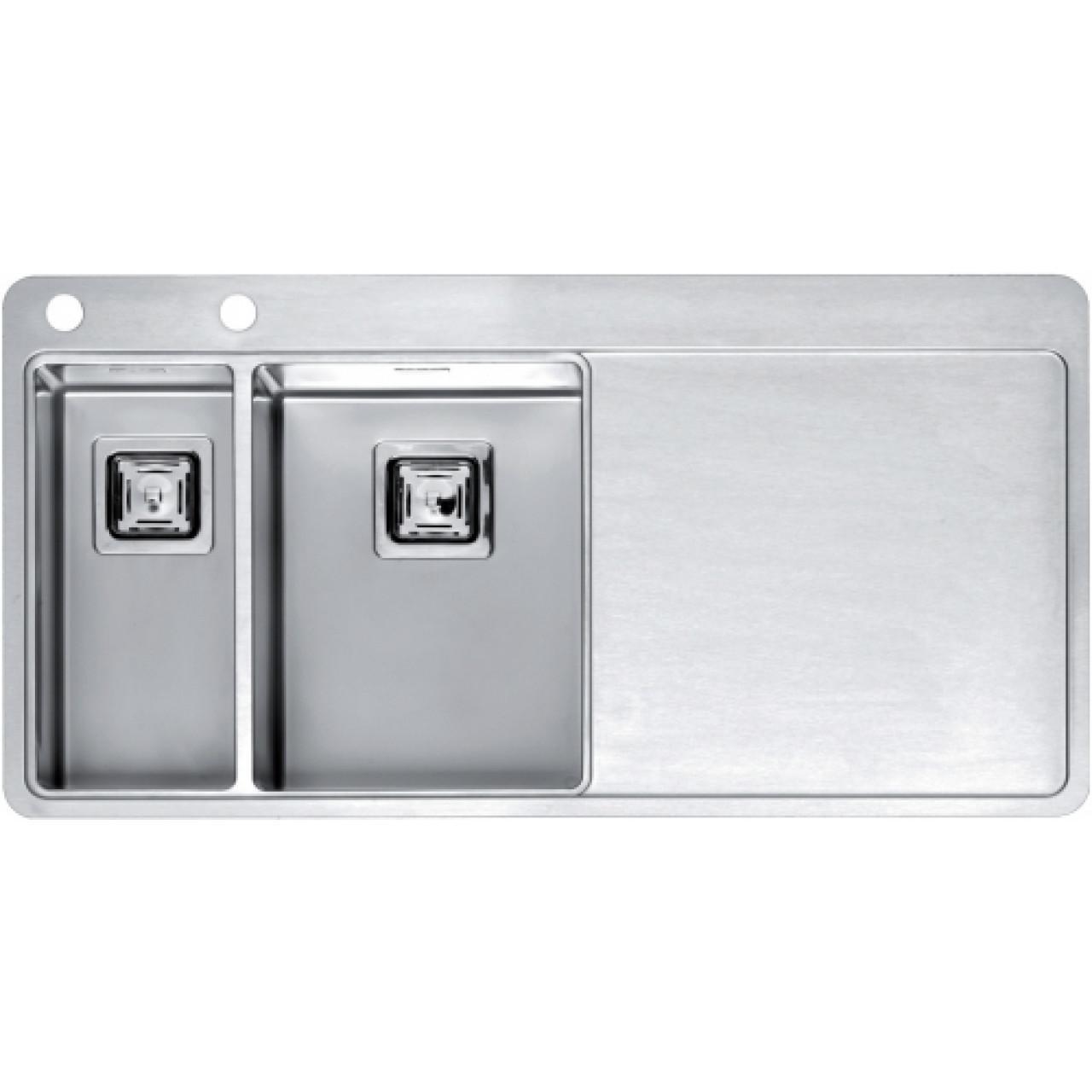 Кухонная мойка Reginox Nevada 30x18 LUX OKG Left/Rignt 43030/43031 купить в Москве по цене от 79000р. в интернет-магазине mebel-v-vannu.ru