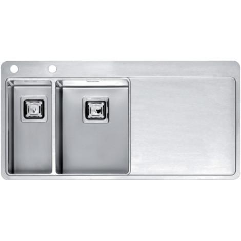 Кухонная мойка Reginox Nevada 18x30 LUX OKG Left/Rignt 43032/43033 купить в Москве по цене от 79000р. в интернет-магазине mebel-v-vannu.ru