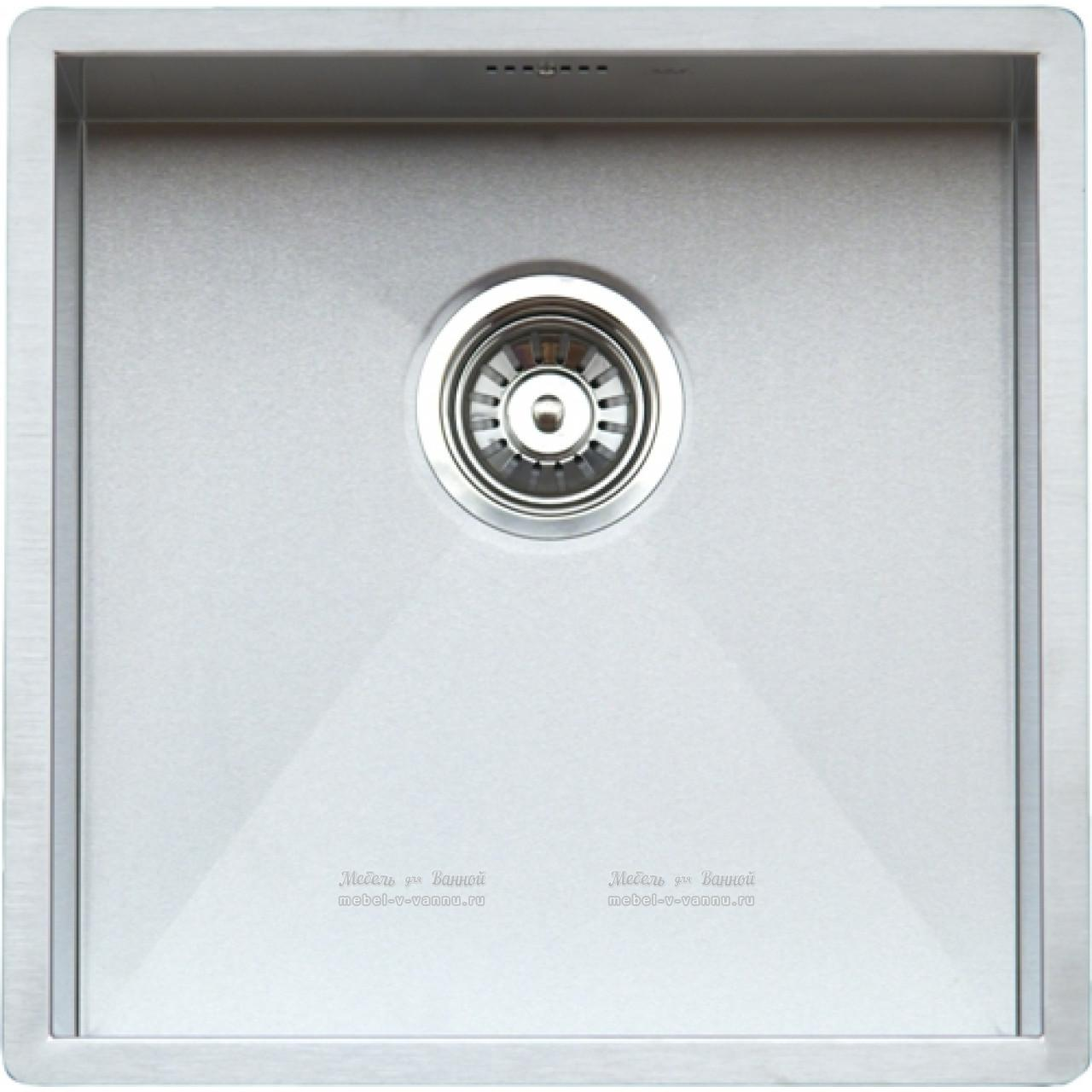 Кухонная мойка Reginox Ontario 440x440 Cuadrat OKG 37848 купить в Москве по цене от 28870р. в интернет-магазине mebel-v-vannu.ru