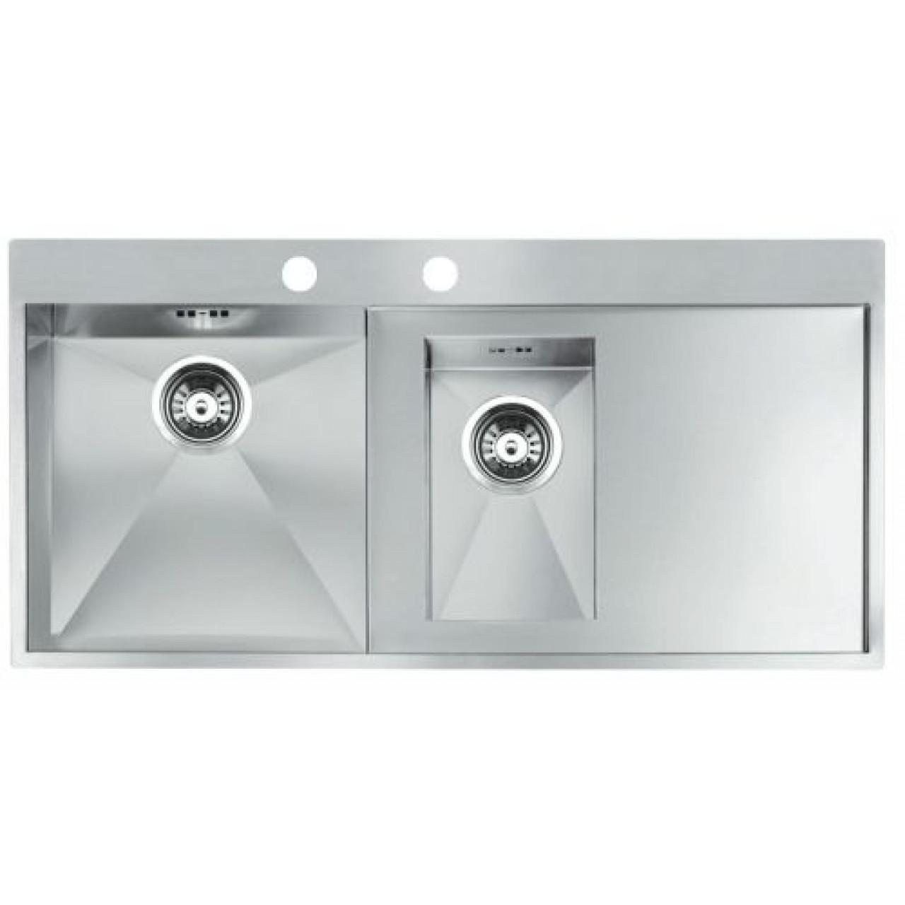 Кухонная мойка Reginox Ontario L 1.5 OKG left купить в Москве по цене от 74700р. в интернет-магазине mebel-v-vannu.ru