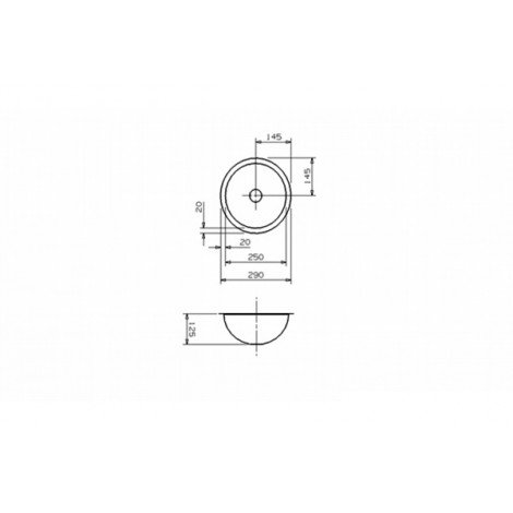 Раковина Reginox Rio 290x290 купить в Москве по цене от 8180р. в интернет-магазине mebel-v-vannu.ru