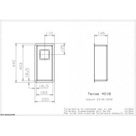 Кухонная мойка Reginox Texas 18x40 Small 40301 купить в Москве по цене от 25250р. в интернет-магазине mebel-v-vannu.ru