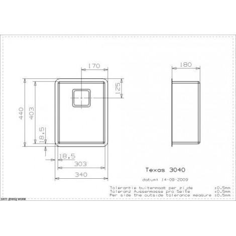 Кухонная мойка Reginox Texas 30x40 41472 купить в Москве по цене от 27380р. в интернет-магазине mebel-v-vannu.ru