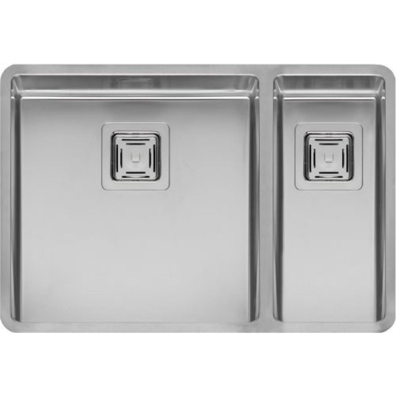 Кухонная мойка Reginox Texas 40x40+18x40 41475 купить в Москве по цене от 64500р. в интернет-магазине mebel-v-vannu.ru
