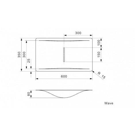 Кухонная мойка Reginox Wave 600х350 Sahara Sand OSP 43684 купить в Москве по цене от 32300р. в интернет-магазине mebel-v-vannu.ru