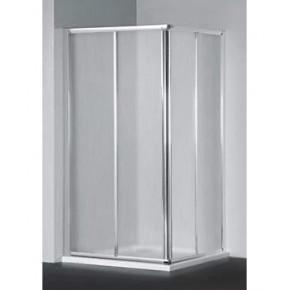Душевой уголок RGW Classic CL-42 1000x800x1850 профиль хром, стекло шиншилла 04094280-51